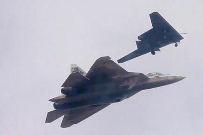 В США назвали цель ведомого Су-57