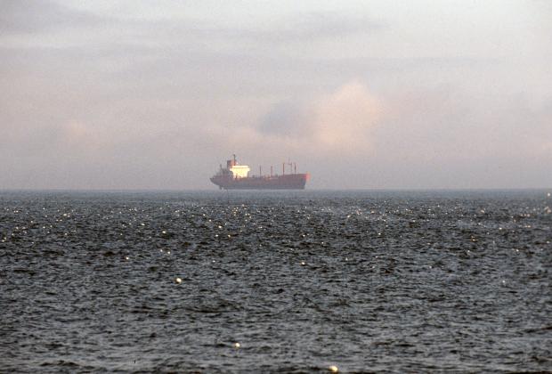 Сухогруз в Беринговом море