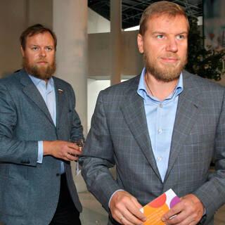 Дмитрий Ананьев (слева), Алексей Ананьев (справа)