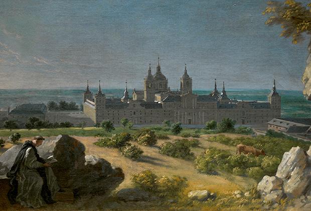 Мишель-Анж Уасс «Вид монастыря Эскориал», 1720-1730 годы