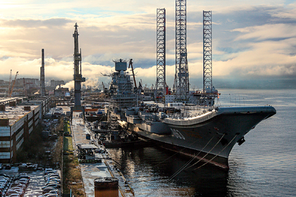 Россия испытает «Адмирала Кузнецова»