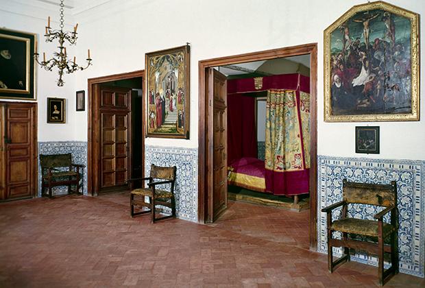 Спальня Филиппа II в Эскориале