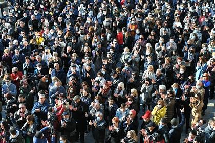 В Армении начался многотысячный митинг против «предателя Никола»