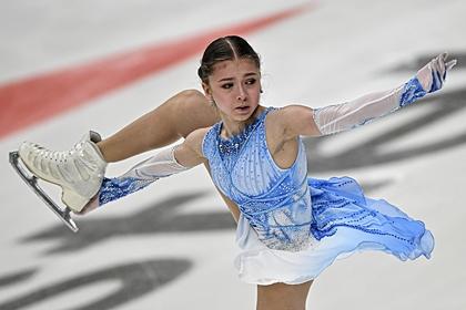 Ученица Тутберидзе превзошла мировой рекорд Косторной на этапе Кубка России