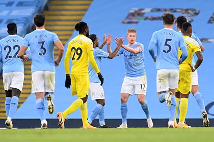 «Манчестер Сити» впервые в сезоне выиграл два матча в АПЛ подряд
