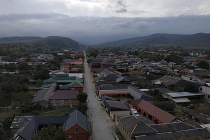 Вид села Шалажи