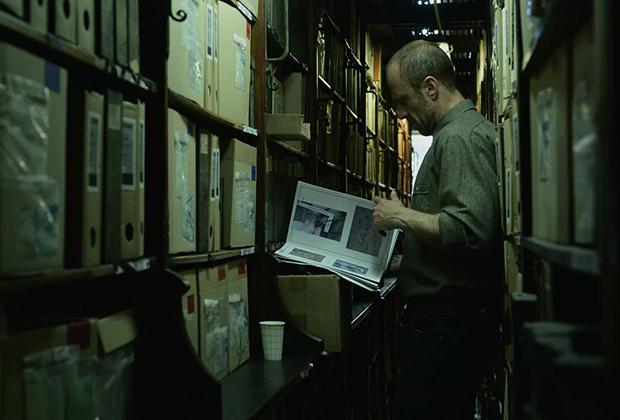 Кадр из экранизации романа «Бешенство»
