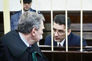 Кристиан Бала в зале суда