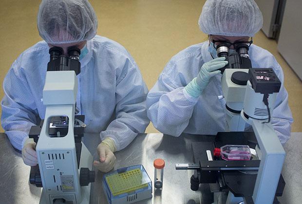 На производстве вакцины «Гам-КОВИД-Вак»