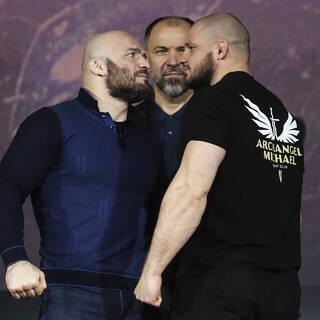 Магомед Исмаилов и Иван Штырков