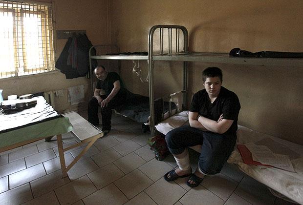 Заключенные в СИЗО «Матросская Тишина»
