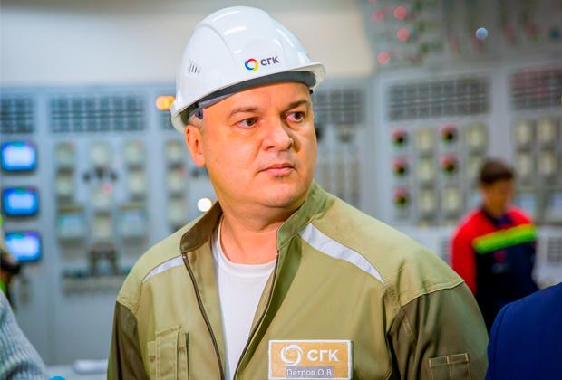 Технический директор Сибирской генерирующей компании Олег Петров