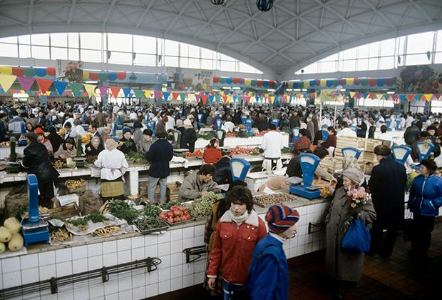 Черемушкинский рынок, 1986 год