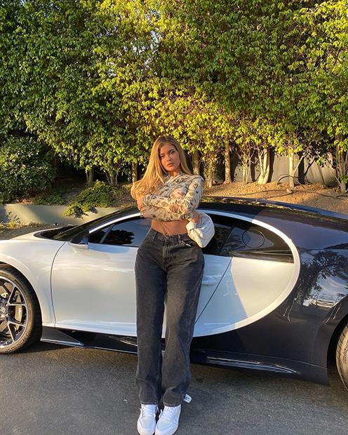 Бывшая самая молодая в мире миллиардерша Кайли Дженнер