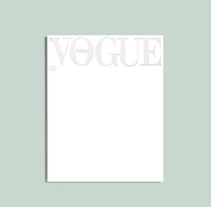 Пустая обложка Vogue