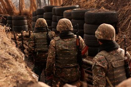 Попавшие в азербайджанское окружение армянские военные попытались прорваться