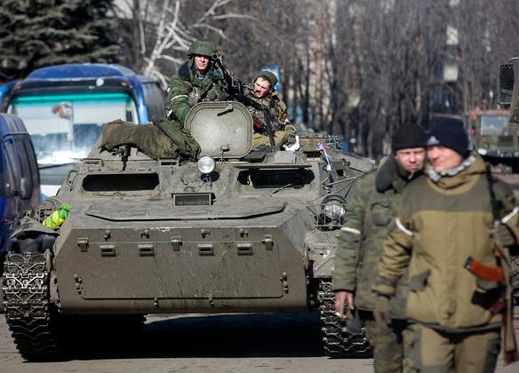 Солдаты самопровозглашенной Донецкой народной республики (ДНР), 2015 год