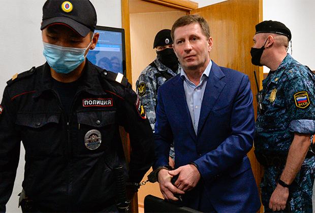 Бывший губернатор Хабаровского края Сергей Фургал