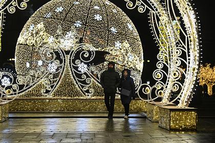 Синоптики рассказали о погоде в новогоднюю ночь в Москве