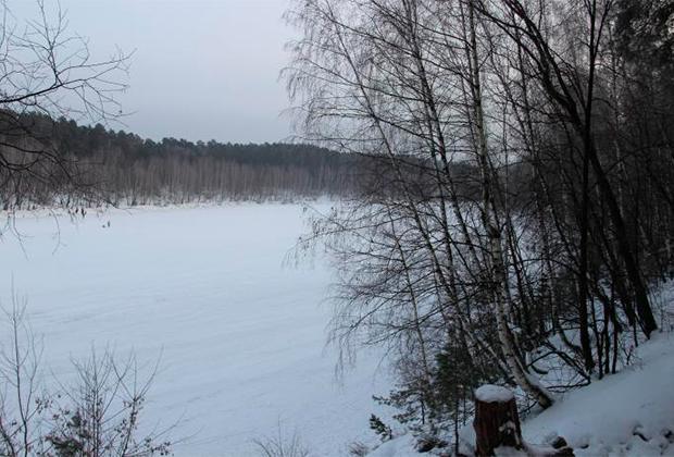 Озеро Глубокое в Казани