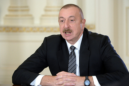 Алиев вступился за Пашиняна