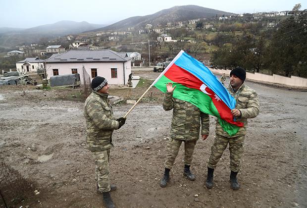 Азербайджанские военные
