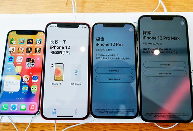 iPhone 12 mini в сравнении с остальными моделями линейки