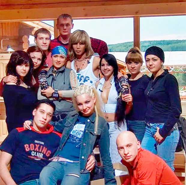 Первый состав «Дома-2», 2004 год.