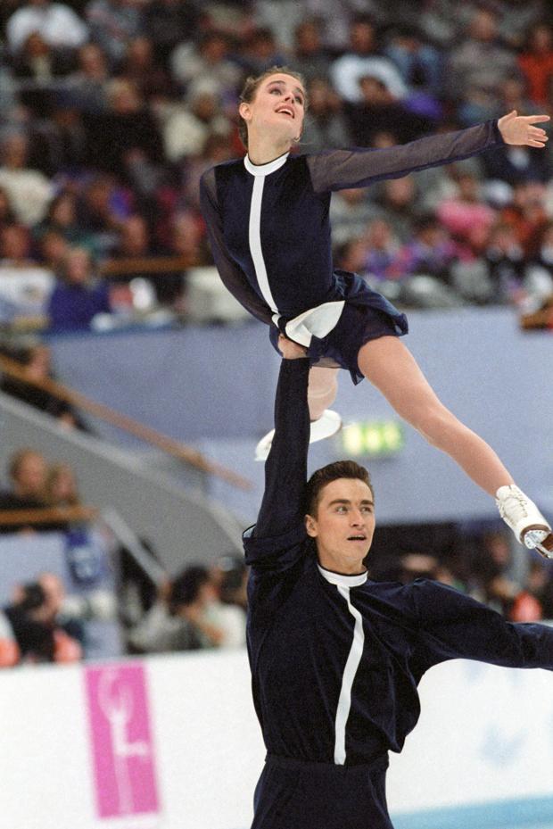 Олимпиада-1994. Екатерина Гордеева и Сергей Гриньков