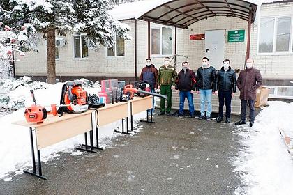 Краснодарский край закупил оборудование для тушения лесных пожаров