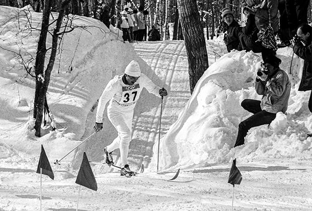 Вячеслав Веденин на XI зимних Олимпийских играх в Саппоро (Япония). 1972 год