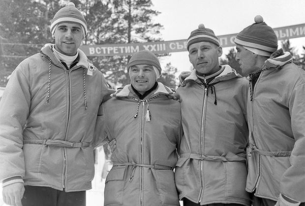 Слева направо: Анатолий Акентьев, Вячеслав Веденин, Игорь Ворончихин, Анатолий Наседкин