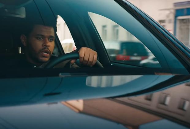 The Weeknd в рекламном ролике Mercedes-Benz