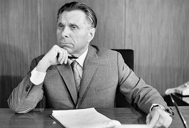 Глава МВД СССР Николай Щелоков