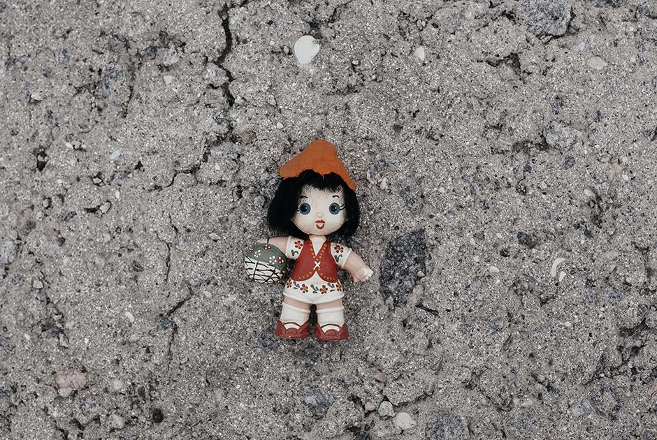 Куколка-оберег, который подарили Татьяне друзья, когда она уезжала в Афганистан. Два года маленькая Танюшка (так назвала куклу Татьяна) была ее талисманом
