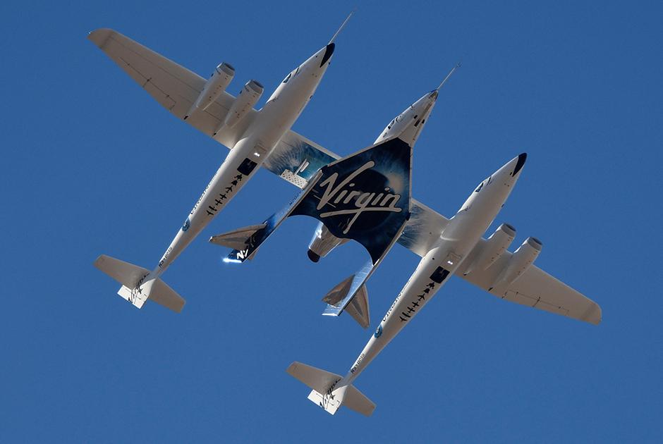 Аппарат Virgin Galactic SpaceShipTwo