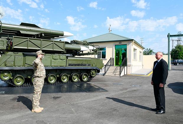 ЗРК «Бук» в армии Азербайджана