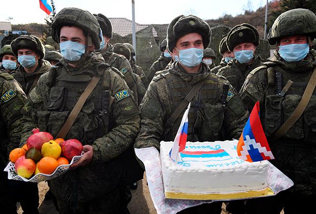 Российские миротворцы в Степанакерте
