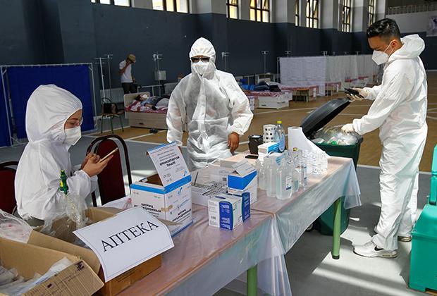 Разгар пандемии, Бишкек, Киргизия