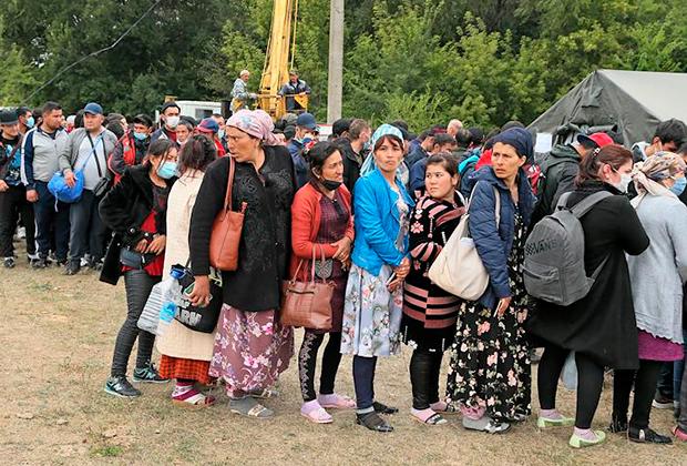 Граждане Узбекистана, застрявшие в Самарской области России из-за пандемии