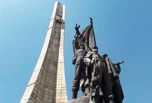 Памятник борцам за свободу в Эфиопии