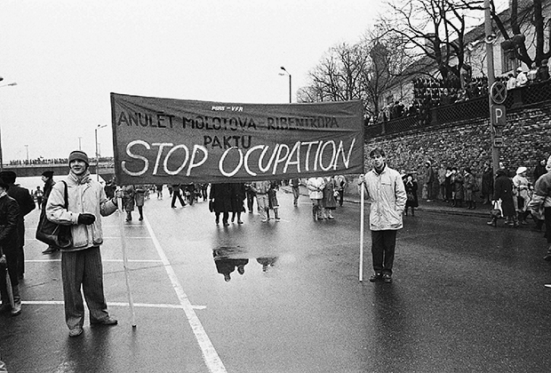 Прибалтика (страна не указана), март 1988 года