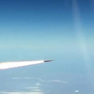 Запуск гиперзвуковой ракеты «Кинжал»
