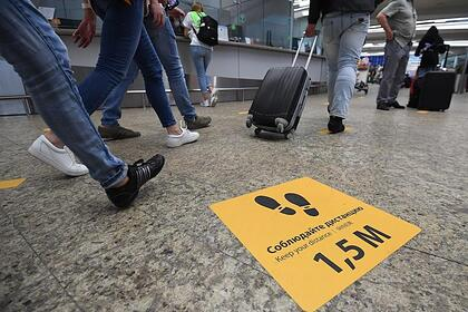 Названа самая опасная зона для заражения COVID-19 в аэропорту