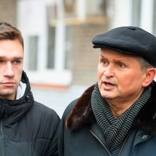 Никита Данченков и Александр Островский