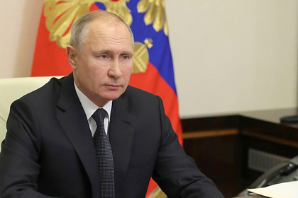 Путин выразил соболезнования близким моряков с затонувшего судна «Онега»