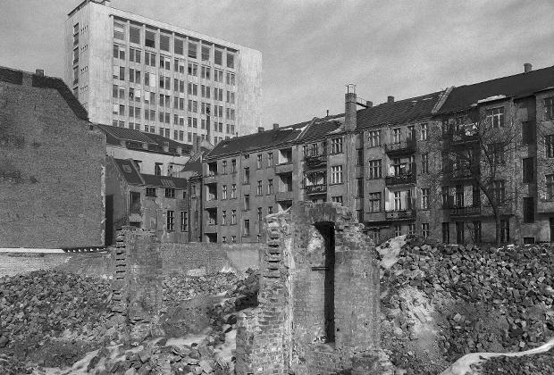 7 марта 1955 года. Восстановление разрушенного войной Берлина