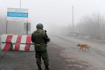 ЛНР обвинила Киев в размещении бронетехники на линии соприкосновения