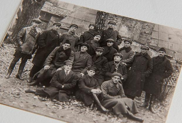 Сотрудники МУРа. 20-е годы XX века