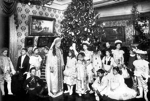Рождественская елка. 1913 год